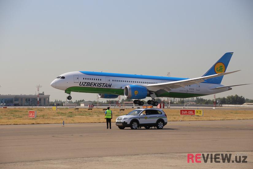 Узбекистан приостанавливает авиасообщение с 8 странами