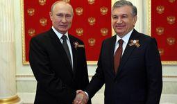 Шавкат Мирзиеев пожелал успехов в проведении голосования по поправкам в конституцию России