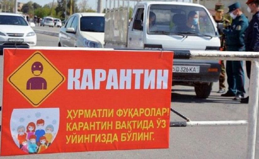 Toshkent shahriga kirish bo'yicha cheklovlar o'rnatildi