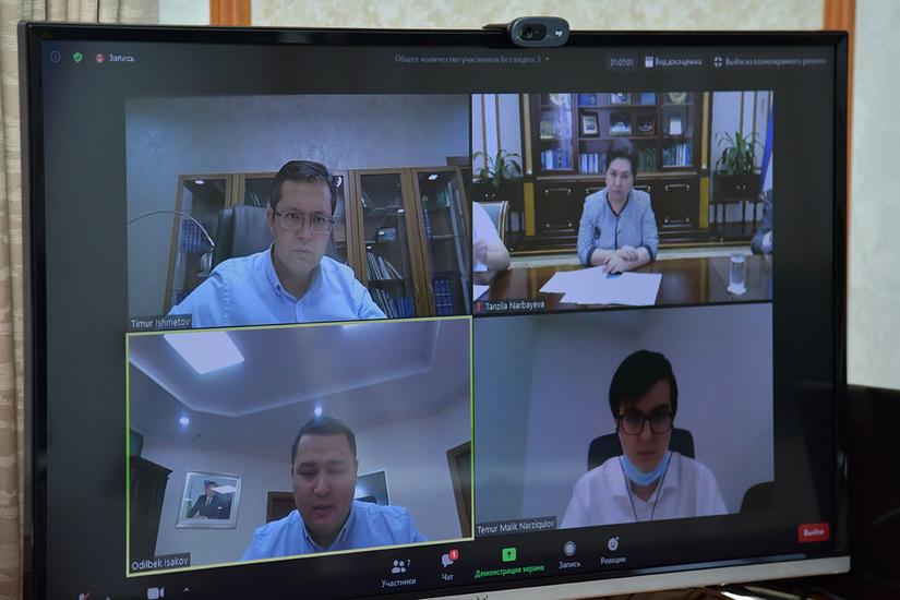 Председатель Сената Танзила Нарбаева и министр финансов Тимур Ишметов обсудили состояние работы по международным рейтингам и индексам
