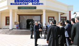 Президент Чинозда 3 минг нафар хотин-қизни иш билан таъминлаш бўйича кўрсатма берди (+фото)