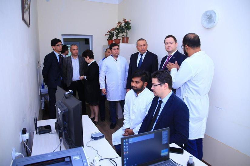 Сеансы телемедицины организованы в регионах Узбекистана