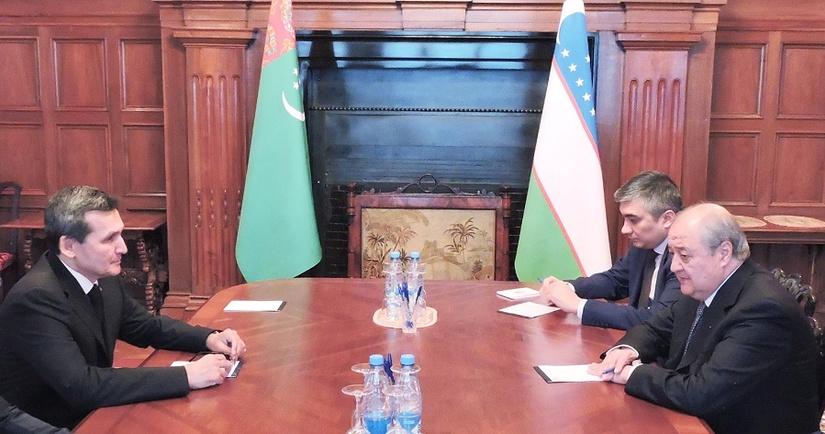 Главы МИД Узбекистана и Туркменистана обсудили в Москве двустороннее сотрудничество