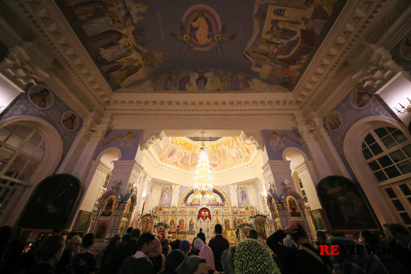 Фоторепортаж: Православные Ташкента встретили Пасху