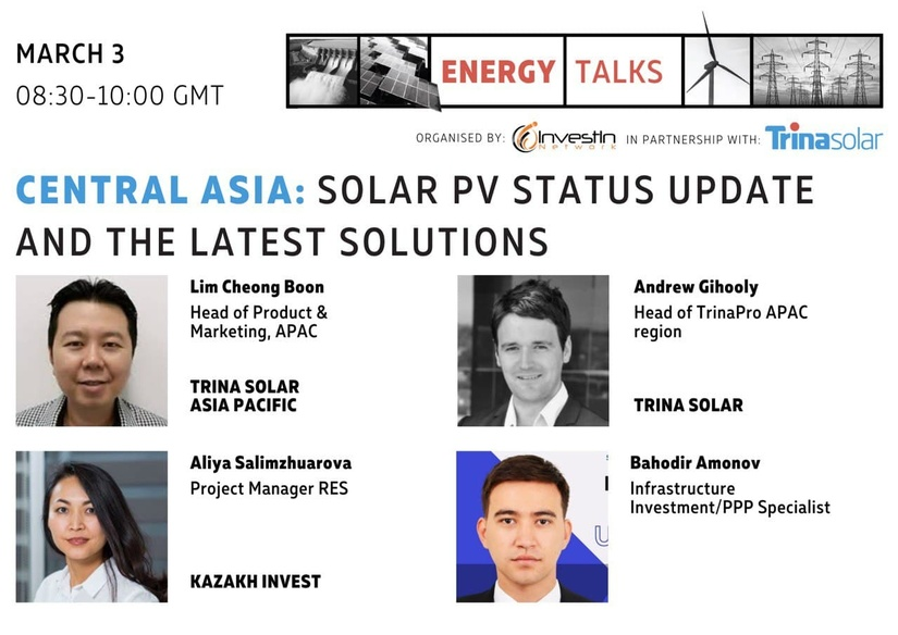 Central Asia: solar PV status update and the latest solutions