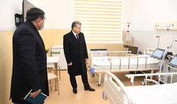 Shavkat Mirziyoyev «Eski ToshMI» o'rnida qurilayotgan  Respublika ko'p tarmoqli tibbiyot markazini borib ko'rdi (+foto)