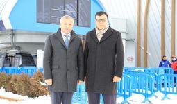 Aziz Abduhakimov va Leonid Marinich Bo'stonliq va Zomin tumanlarida eko-uylar qurilishini muhokama qildi