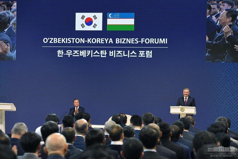 Узбекистан и Южная Корея подписали соглашения более чем на $12 миллиардов