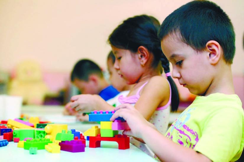 Школа начинается в детском саду