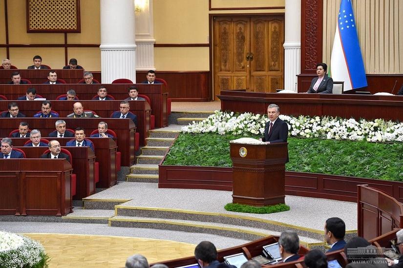 Шавкат Мирзиёев перечислил основные задачи, стоящие перед вновь утверждаемым правительством