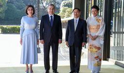 O'zbekiston Prezidenti Yaponiya Imperatori bilan uchrashdi