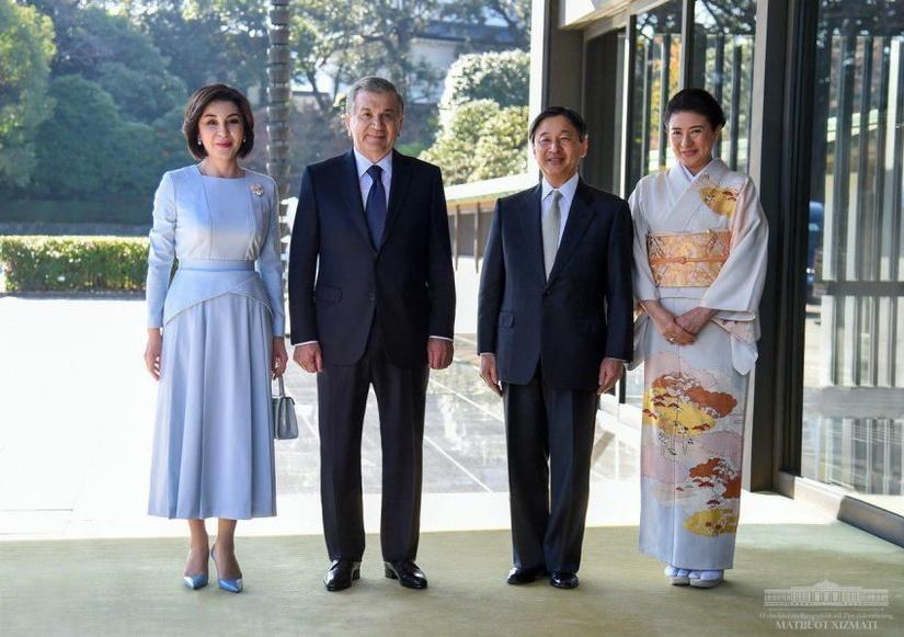 Президент Шавкат Мирзиёев встретился с императором Японии Нарухито