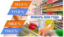 Инфляция в Узбекистане в январе составила 1%