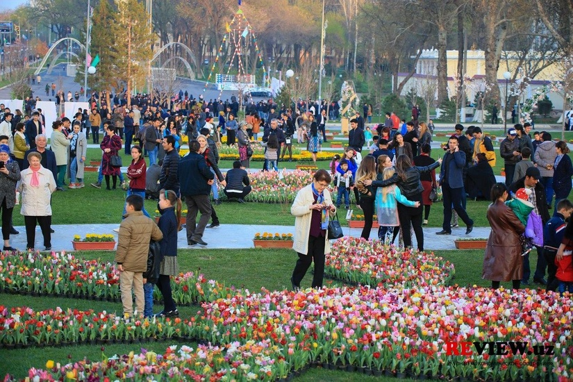 Численность населения Узбекистана увеличилась на 131,6 тыс.
