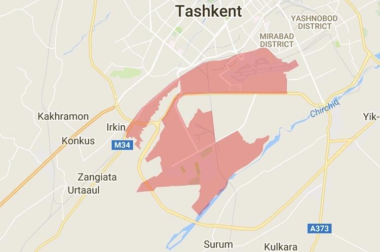 Территория города Ташкента увеличена на 400 гектаров