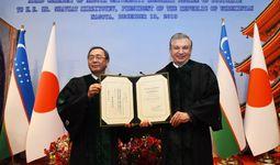 Шавкату Мирзиёеву присвоено звание почетного доктора Университета Нагои