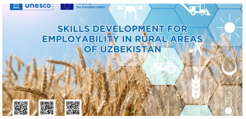 EU-UNESCO Project Skills Development for Employability in Rural Areas of Uzbekistan held the Implementation Phase Launch Meeting to make an overview of planned activities.