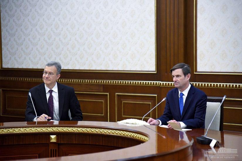 Шавкат Мирзиёев принял замгоссекретаря США Дэвида Хейла