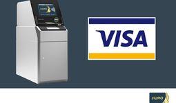 С международных карт VISA можно будет снимать национальную валюту
