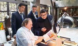 Жерар Депардье снимется в документальном фильме об Узбекистане для французского телевидения