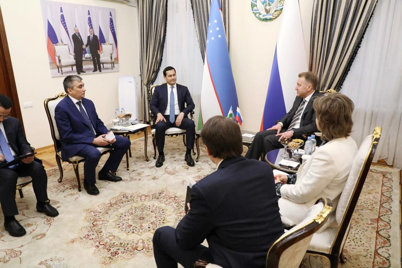 Обсуждены вопросы сотрудничества с Государственной корпорацией развития «ВЭБ.РФ»