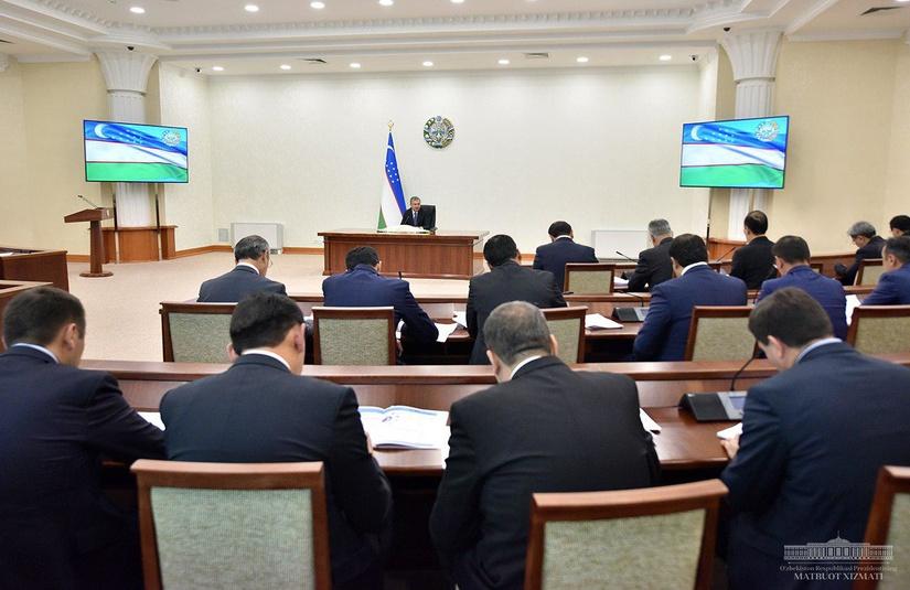 Президент провел совещание, посвященное приоритетным задачам реформирования банковской системы