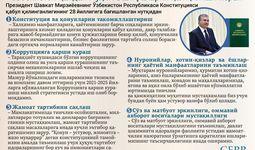 Инфографика: Ўзбекистон қандай муҳим вазифаларни ҳал қилиши керак