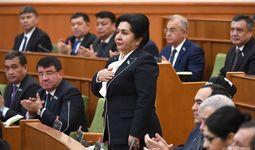 Танзила Норбоева Сенат раиси бўлди