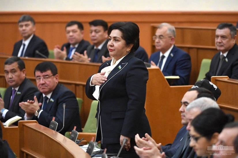 Президент представил кандидатуры на должности Председателя Сената Олий Мажлиса и его заместителей