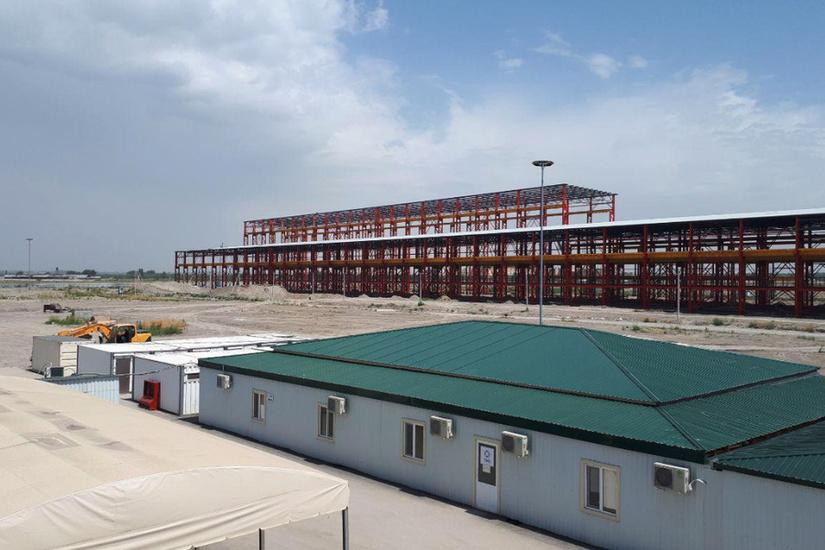 Запускается Ташкентский металлургический завод мощностью 500 тыс. тонн проката в год