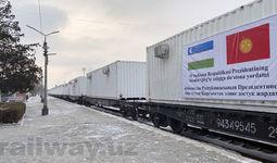 Қирғиз Республикасига мобил шифохона учун контейнерлар етказиб берилди