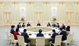 Shavkat Mirziyoyev Koreya Respublikasi parlamentining Milliy Assambleya Spikeri Pak Byon Sokni qabul qildi