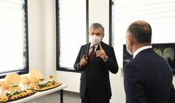 Президент Швейцария билан ҳамкорликда очилган янги корхонани бориб кўрди (фото)