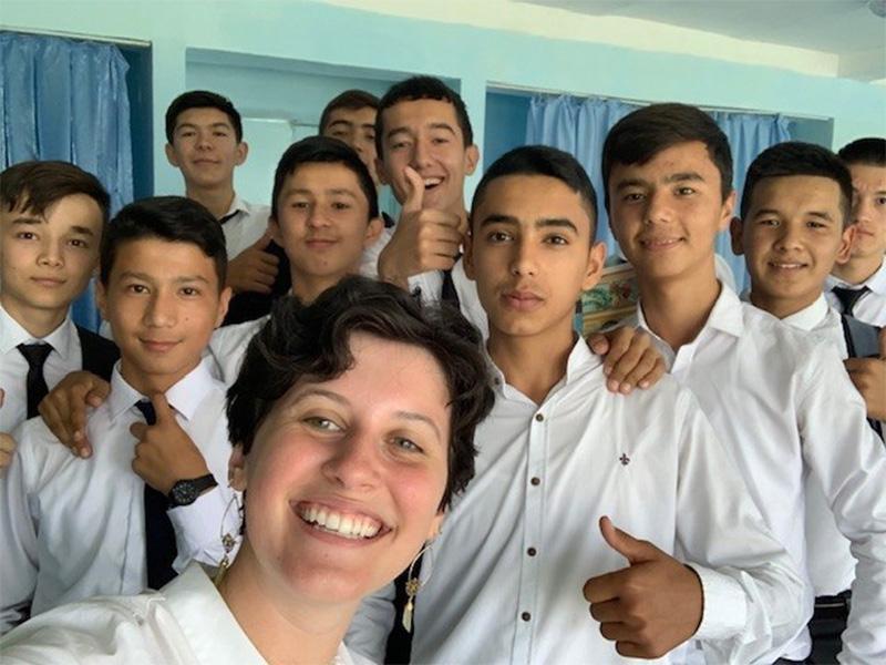 Специалисты из США приступили к преподаванию английского языка в школах Узбекистана