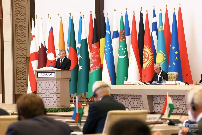 Shavkat Mirziyoyev - We have a goal to turn the whole Eurasian continent into an economically developed and prosperous place