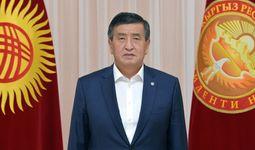 Қирғиз Республикаси Президенти Сооронбай Жээнбеков истеъфога чиққанини эълон қилди