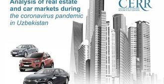 O'zbekistonda koronavirus pandemiyasi vaqtida ko'chmas mulk va avtomobil bozorlari tahlili