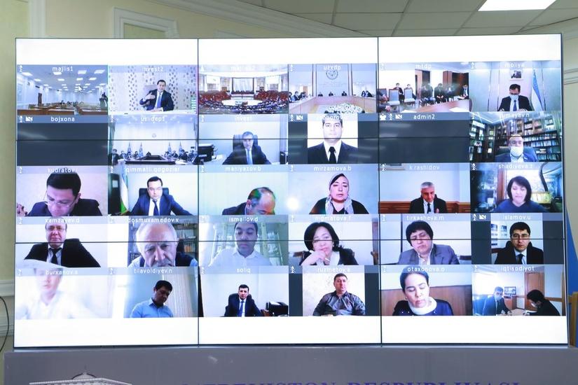 Узбекистан — ЕАЭС: члены правительства ответили на вопросы депутатов