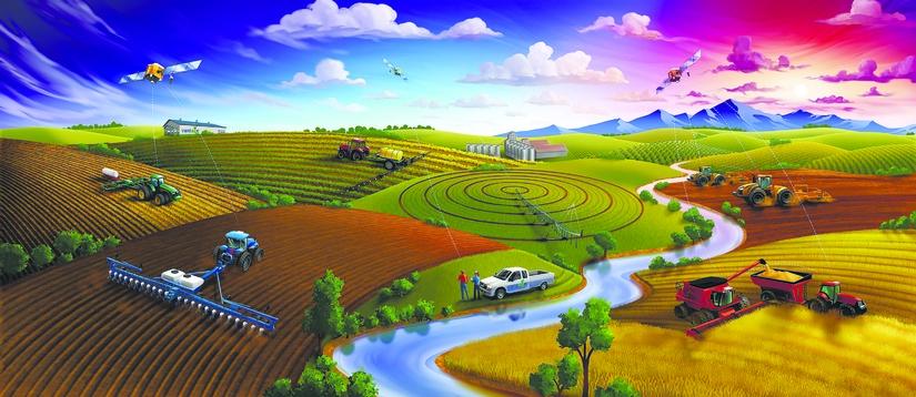 Цифровая сельскохозяйственная эволюция