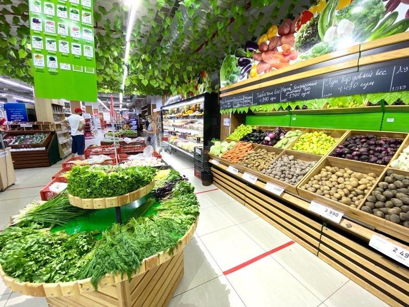 На этой неделе рост цен на продовольствие замедлился