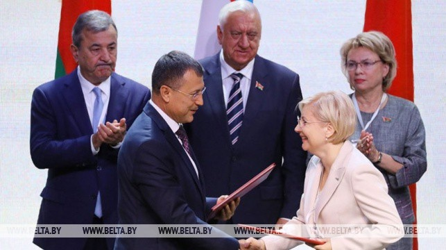 На Первом Форуме регионов Беларуси и Узбекистана подписан пакет экономических документов