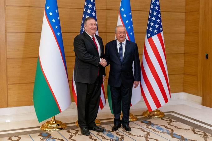 Госсекретарь США высоко оценил проводимые Узбекистаном реформы по демократизации общества и либерализации экономики