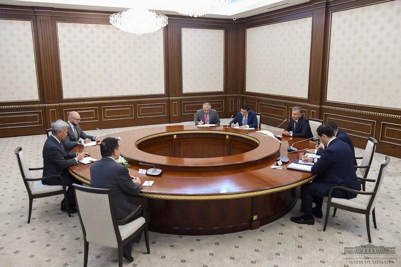 Президент принял делегацию Азиатского банка инфраструктурных инвестиций