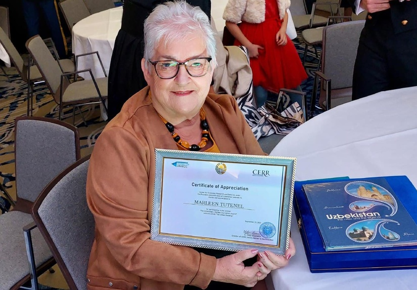 Center for Economic Research and Reforms honoured Marleen Tutenal