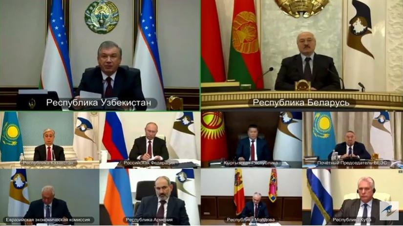 Республика Узбекистан получила статус наблюдателя в ЕАЭС