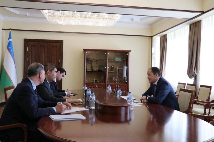 Узбекистан намерен поддержать проекты по цифровизации и оптимизации логистики ТРАСЕКА