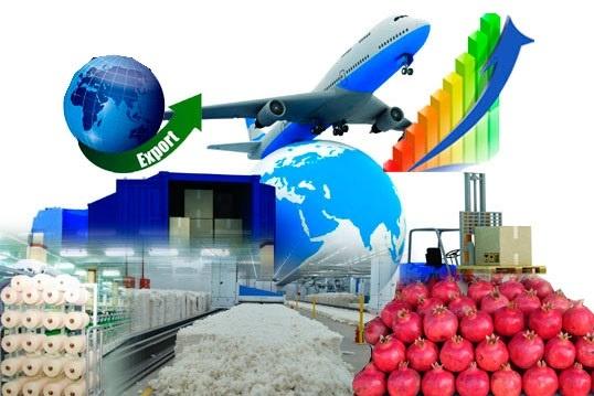 Экспорт географияси дунёнинг 34 та давлатини қамраб олди