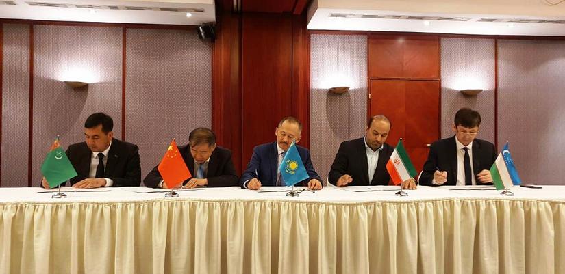 Узбекистан присоединился к железнодорожному коридору Китай-Казахстан-Туркменистан-Иран