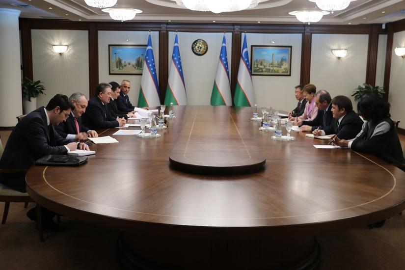 Жаҳон банки делегацияси билан учрашув бўлиб ўтди