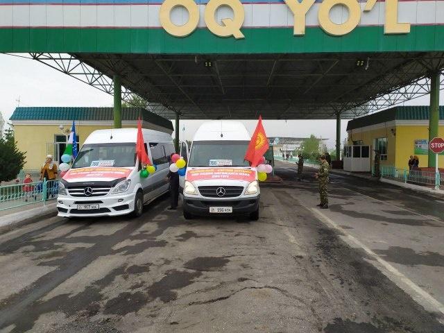 Из Ферганы в Кыргызстан открыли автобусный рейс